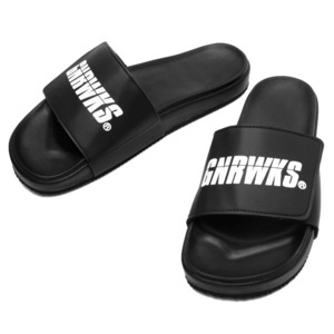 GSP101 ORIGINAL LOGO SLIPPER - BLACK
