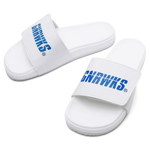 GSP101 ORIGINAL LOGO SLIPPER - WHITE
