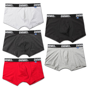 GU1601 ORIGINAL LOGO BOXER BRIEF - 5 COLOR