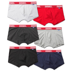 GU1602 ORIGINAL LOGO BOXER BRIEF - 6 COLOR