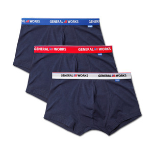 GU1604 FLAG LOGO BOXER BRIEF - 3 COLOR