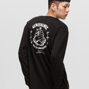 GWL318 LONG SLEEVE - BLACK