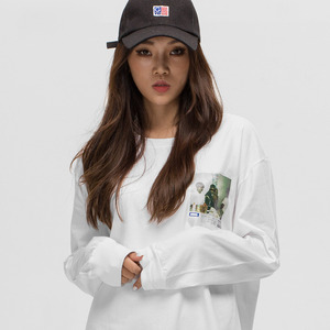 GWL319 LONG SLEEVE - WHITE
