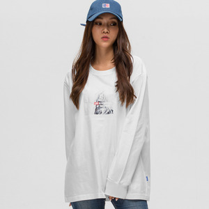 GWL322 LONG SLEEVE - WHITE
