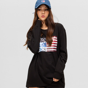 GWL332 LONG SLEEVE - BLACK