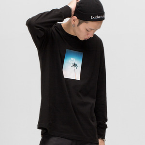 GWL333 LONG SLEEVE - BLACK