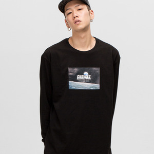 GWL334 LONG SLEEVE - BLACK