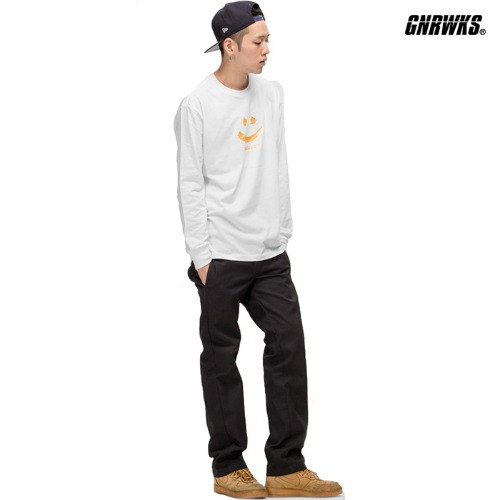 GWL335 LONG SLEEVE - WHITE